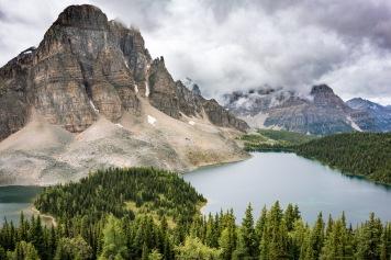 Cerulean Lake from Nub Peak
